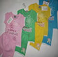 Футболка + шорты для девочки «Hawaii»