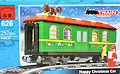 Конструктор Brick 626  Рождественский вагон