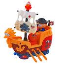 игрушка развивающая «пиратский корабль» (глазастики)