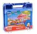 Кубики в чемоданчике Disney Микки Маус 3+