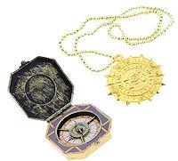 «набор пирата»  компас + медальон 3+