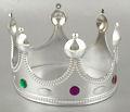 Корона серебряный король