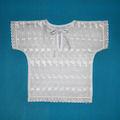 Рубашка крестильная 3-12 мес