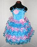 Платье с корсетом Pink&Blue